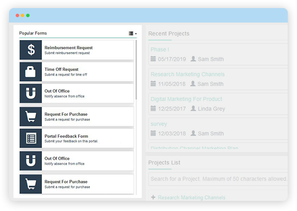 Creates A Paperless Workplace with Digital Forms and Workflow