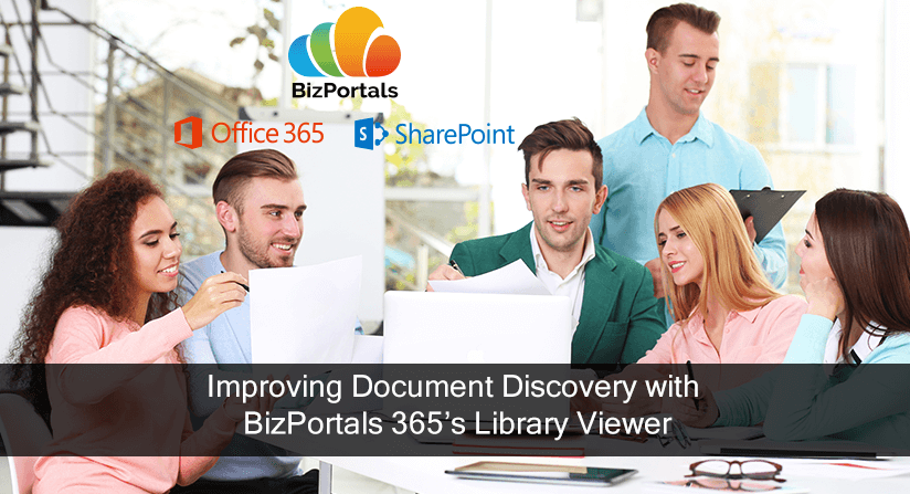 Document Discovery with BizPortals Library Viewer