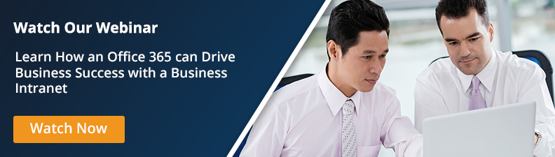 Drive Business Success with a Business Intranet on Office 365